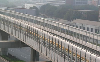 Bridge Sound Barrier Perforated Metal Panels For Urban