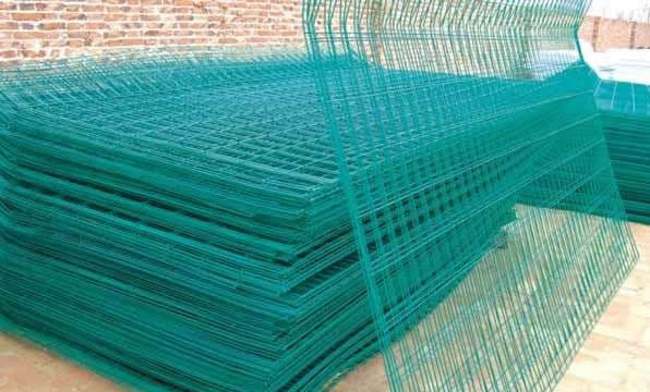 Welded Mesh Fence Panels for Highway, Railway and Airports