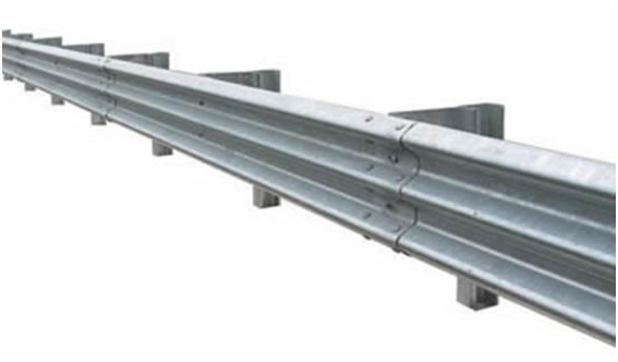 Guardrail system for traffic safety and crash barriers